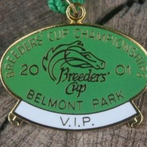 Jewelry - Breeders Cup World Championships Belmont Park 2001